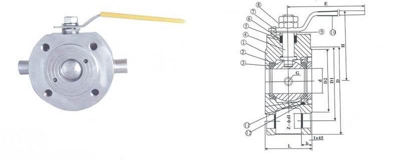 bq71f超薄型保温球阀图片