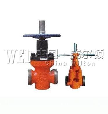Z23X-350钻井高压泥浆闸阀