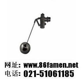 压力平衡型双杆式浮球阀
